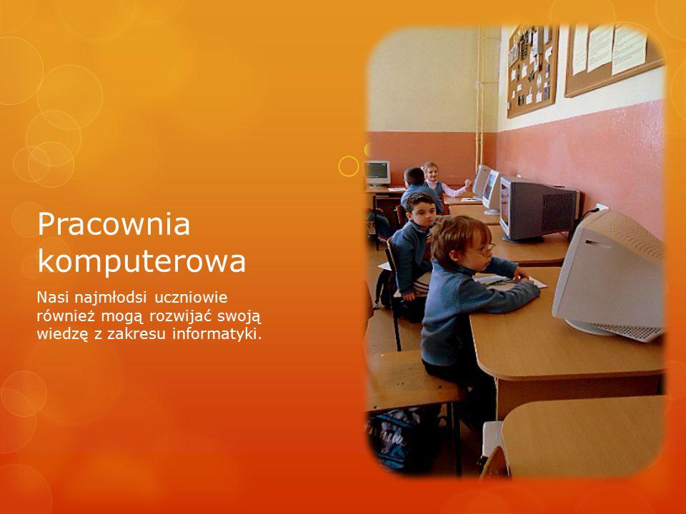 Nasi najmłodsi uczniowie również mogą rozwijać swoją wiedzę z zakresu informatyki.