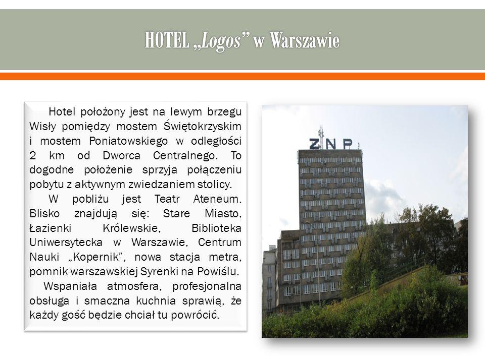 Hotel położony jest na lewym brzegu Wisły pomiędzy mostem Świętokrzyskim i mostem Poniatowskiego w odległości 2 km od Dworca Centralnego.