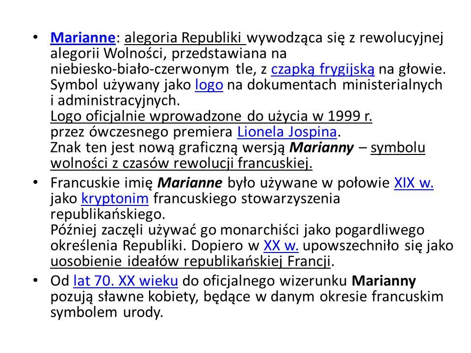 KOGUT GALIJSKI – COQ Kogut galijski to nieoficjalny symbol Galii i celtyckich Galów, przejęty później przez utożsamiających się z galo-rzymską kulturą germańskich Franków, za spadkobierców których uważają się dzisiejsi Francuzi.Galii GalówFranków Symbol ten powstał najprawdopodobniej w okresie rzymskim na bazie gry słów j.