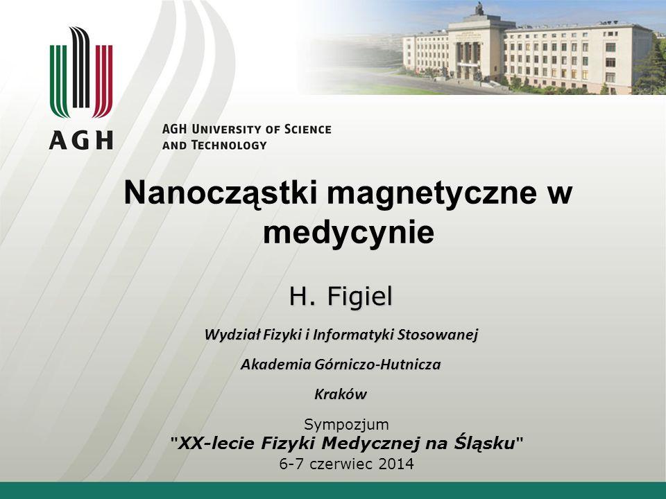 Nanocząstki magnetyczne na powierzchni komórki Nanocząstki magnetyczne