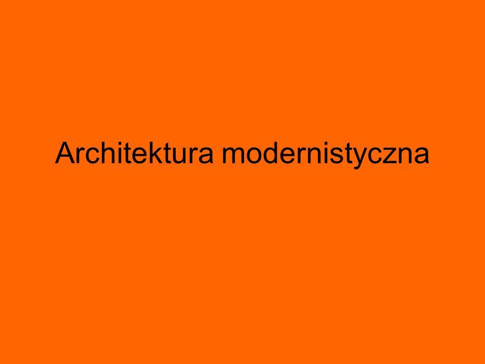 architekci Walter Gropius Mies van der Rohe Le Corbusier Frank Lloyd Wright Oscar Niemeyer Alvar Aalto