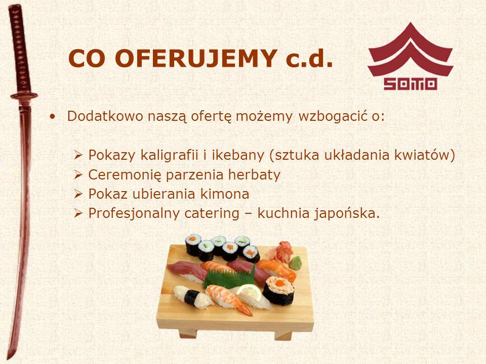 CO OFERUJEMY c.d.