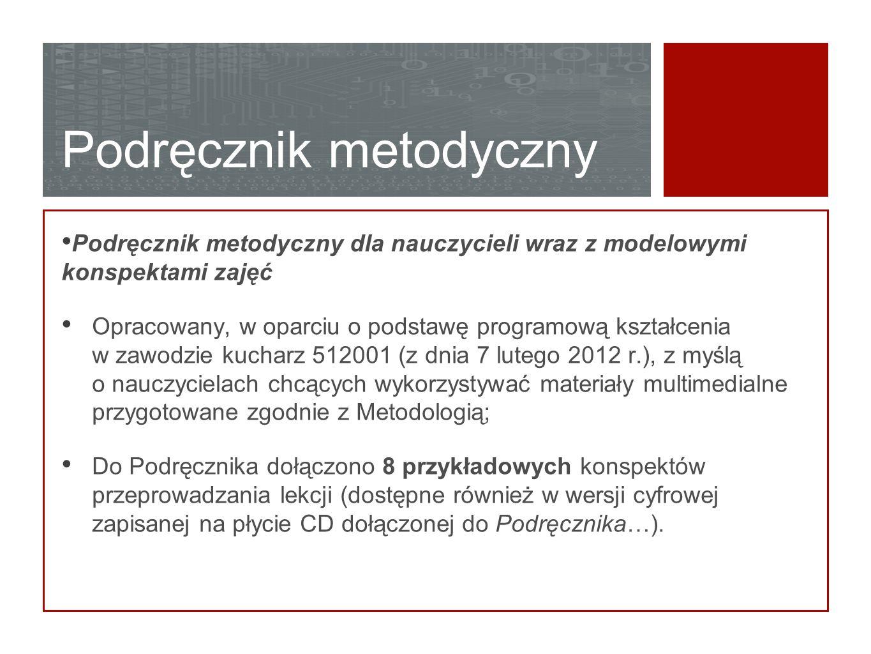 Podręcznik metodyczny Podręcznik metodyczny dla nauczycieli wraz z modelowymi konspektami zajęć Opracowany, w oparciu o podstawę programową kształceni