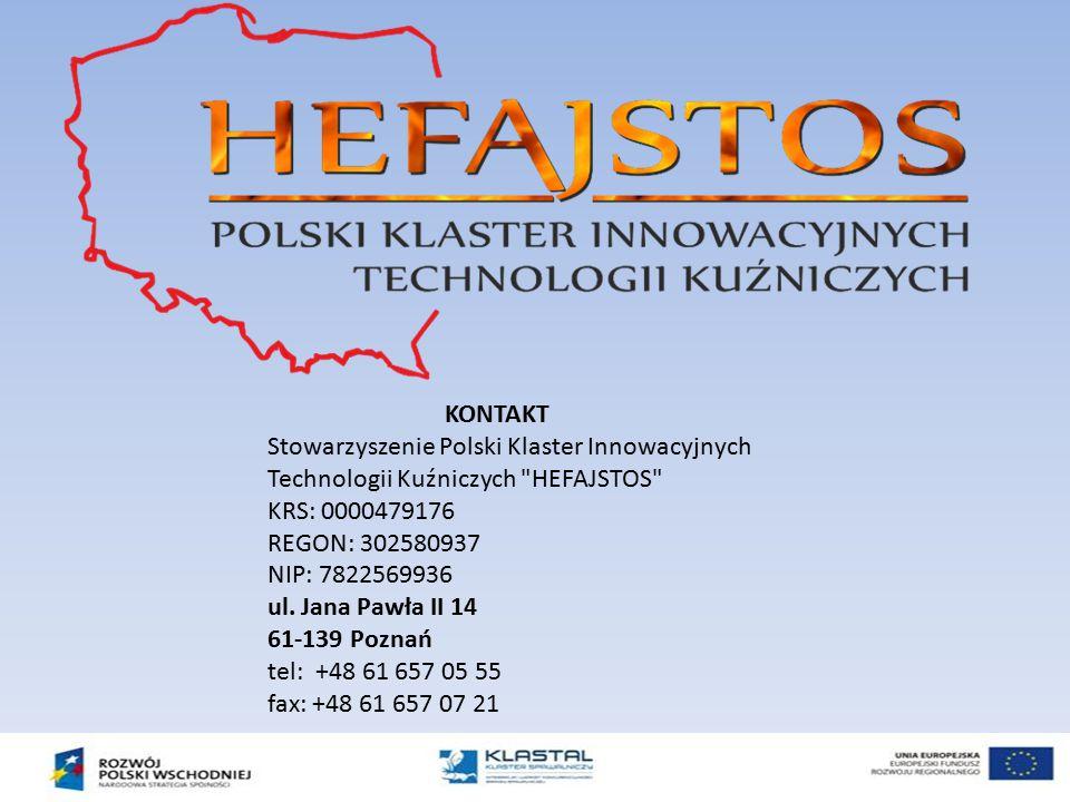KONTAKT Stowarzyszenie Polski Klaster Innowacyjnych Technologii Kuźniczych
