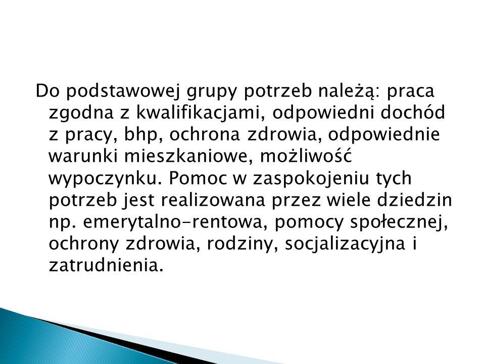 - sumę działań na rzecz postępu społecznego (def.wg.