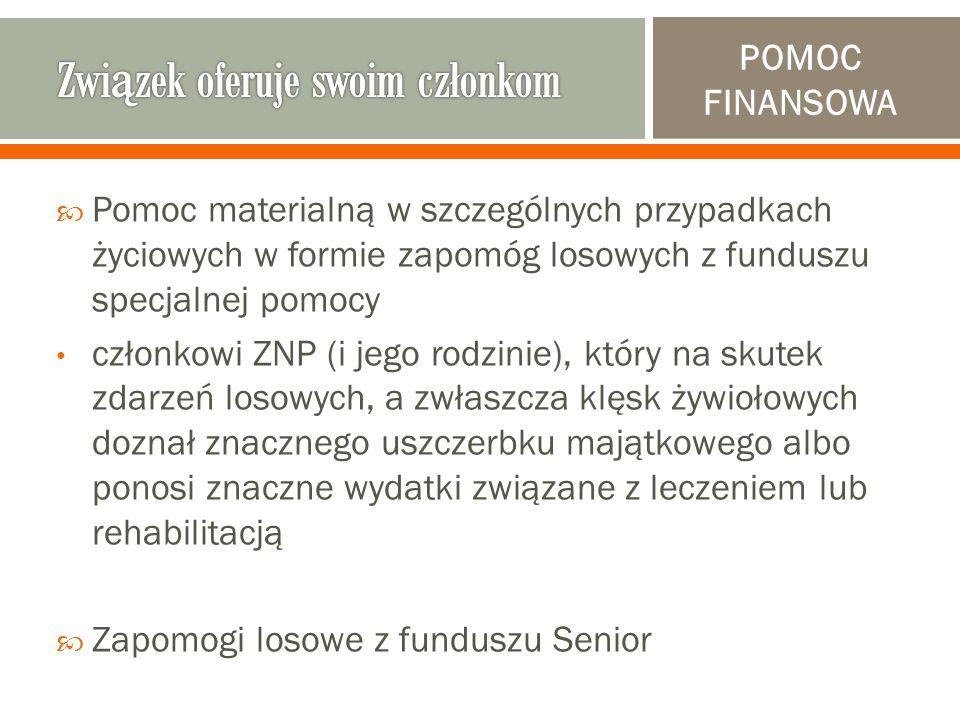  Bogaty wybór gadżetów związkowych (m.in.