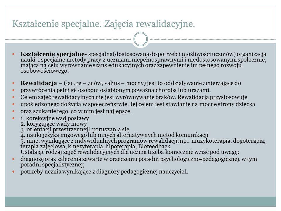 Orzecznictwo.Rozporządzenie Ministra Edukacji Narodowej z dnia 18 września 2008r.