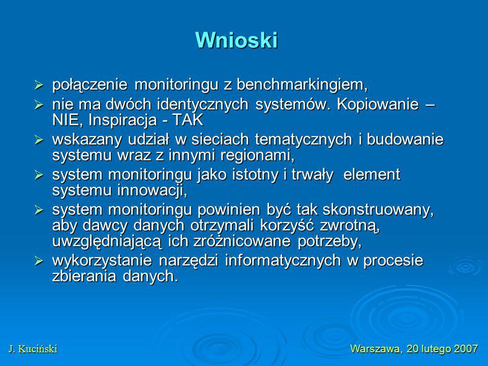  połączenie monitoringu z benchmarkingiem,  nie ma dwóch identycznych systemów.