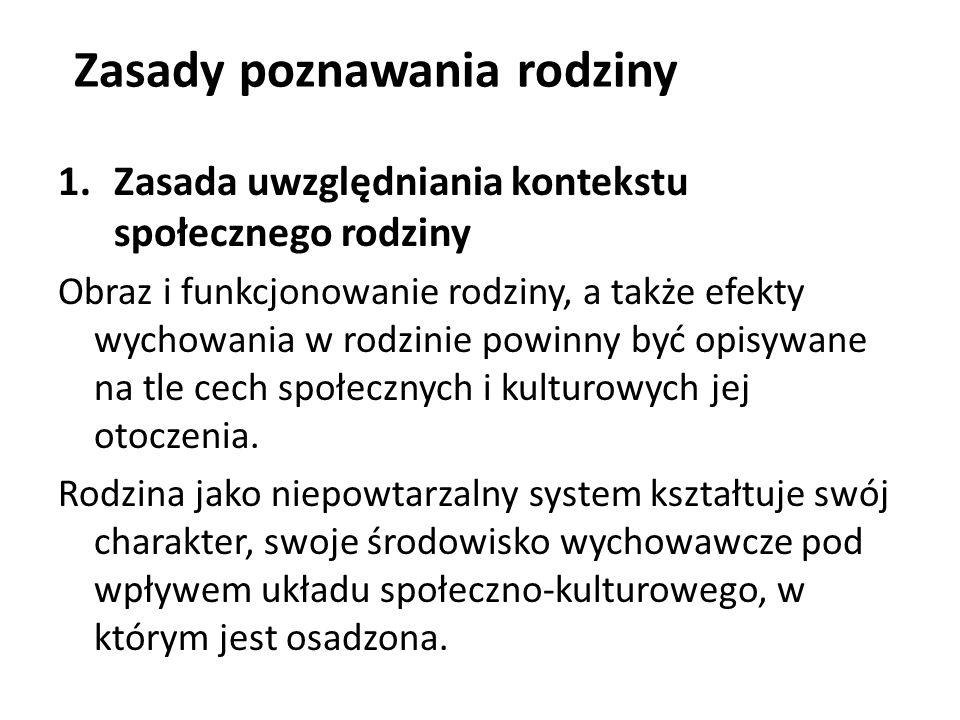 Diagnoza wybiórcza środowiska rodzinnego Kwestionariusz dla Rodziców do Badania Postaw Rodzicielskich M.