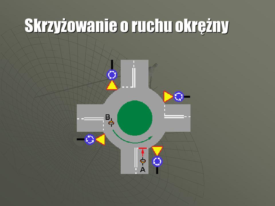 Skrzyżowanie o ruchu okrężny