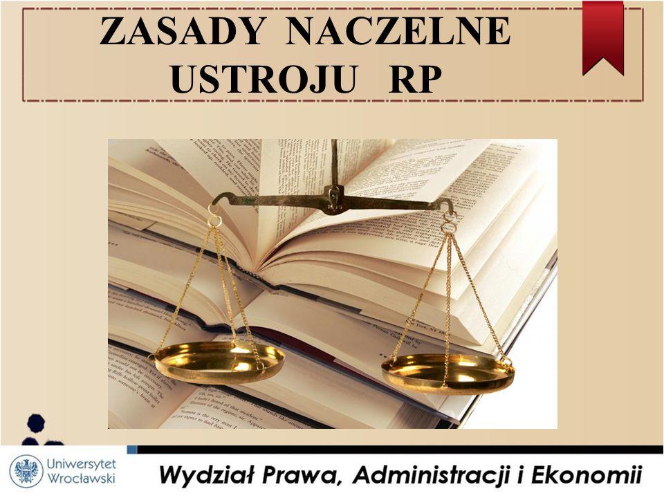 Źródła prawa ● Konstytucja z 2 kwietnia 1997 r.