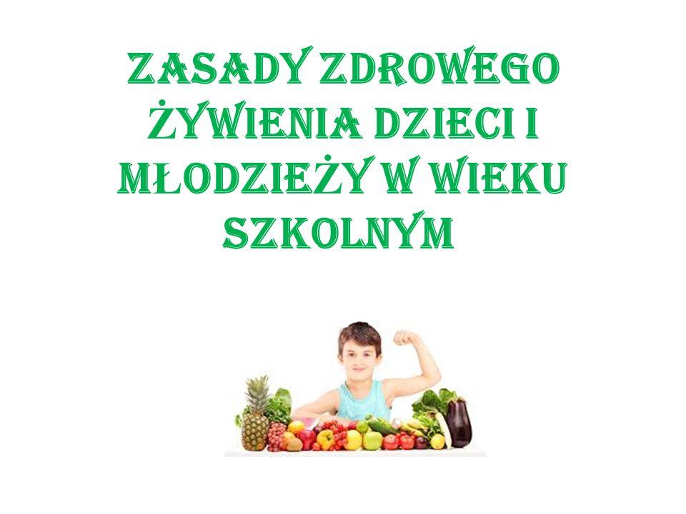 1. Jedz codziennie ró ż ne produkty z ka ż dej grupy uwzgl ę dnionej w piramidzie.