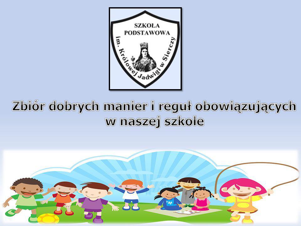 Zasady zostały ustalone przy współpracy nauczycieli z uczniami Szkoły Podstawowej im.