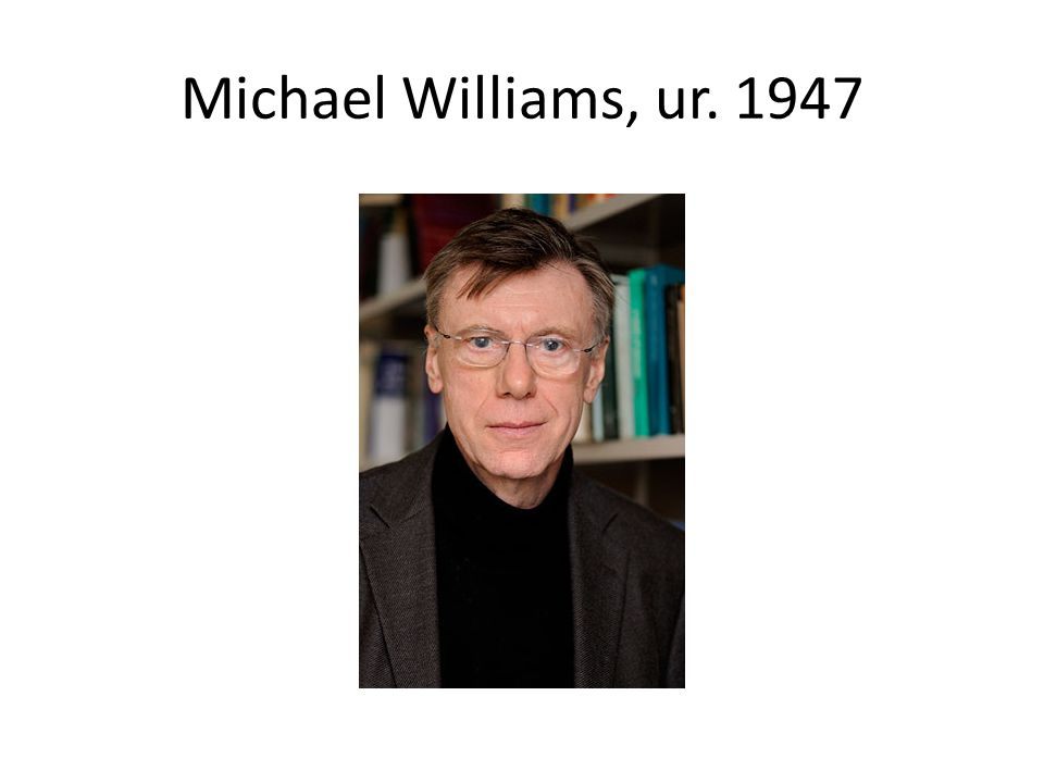 Michael Williams, ur. 1947