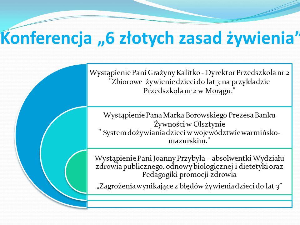 Wystąpienie Pani Grażyny Kalitko - Dyrektor Przedszkola nr 2