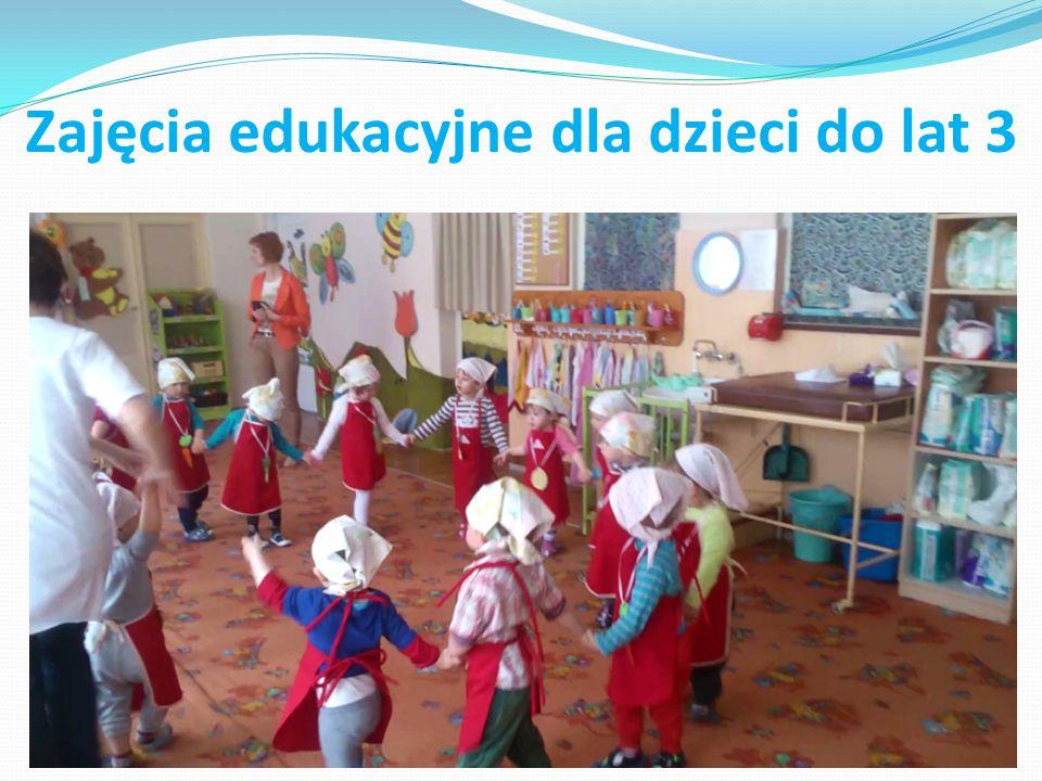Zajęcia edukacyjne dla dzieci do lat 3