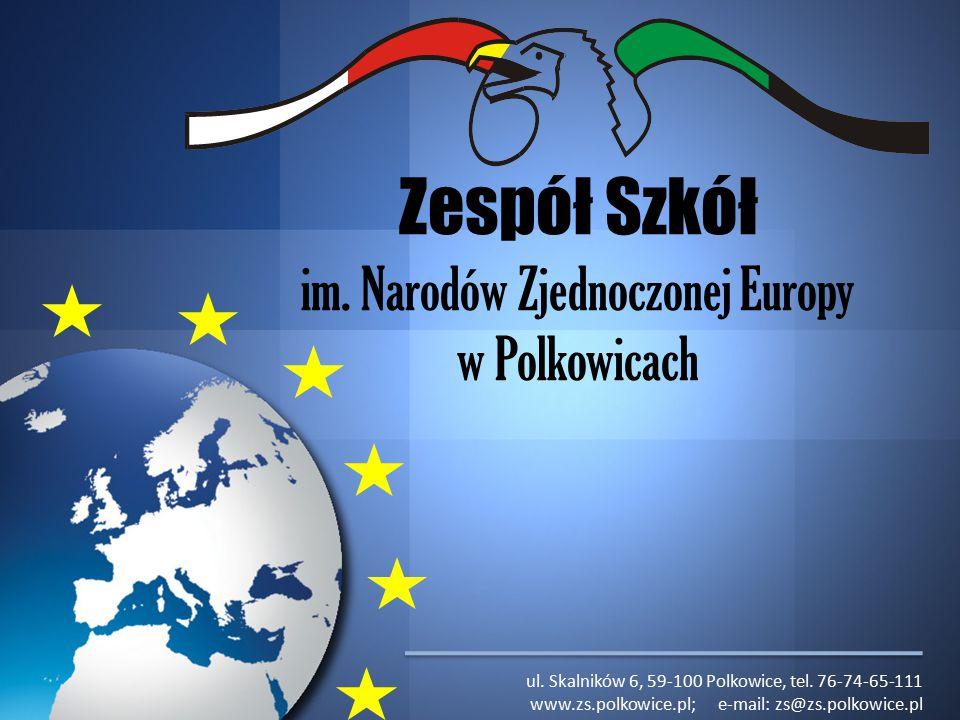 Zespół Szkół im.Narodów Zjednoczonej Europy w Polkowicach ul.
