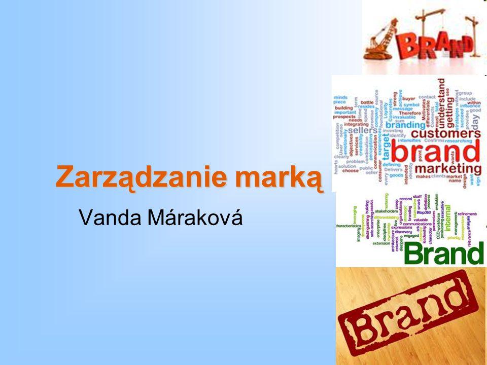 Zarządzanie marką Vanda Máraková