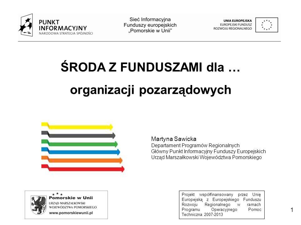 Projekt współfinansowany przez Unię Europejską z Europejskiego Funduszu Rozwoju Regionalnego w ramach Programu Operacyjnego Pomoc Techniczna 2007-2013 2 Program Operacyjny Wiedza Edukacja Rozwój 2014-2020 Budżet Programu: 4,4 mld EUR