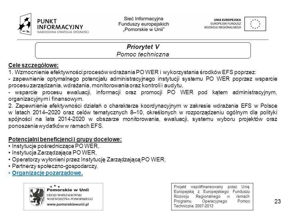 Projekt współfinansowany przez Unię Europejską z Europejskiego Funduszu Rozwoju Regionalnego w ramach Programu Operacyjnego Pomoc Techniczna 2007-2013 REJESTR USŁUG ROZWOJOWYCH (RUR) Jednym z kluczowych elementów systemu zapewnienia jakości usług rozwojowych będzie Rejestr Usług Rozwojowych.