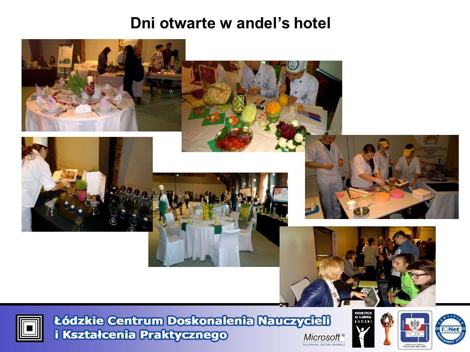 Dni otwarte w andel's hotel