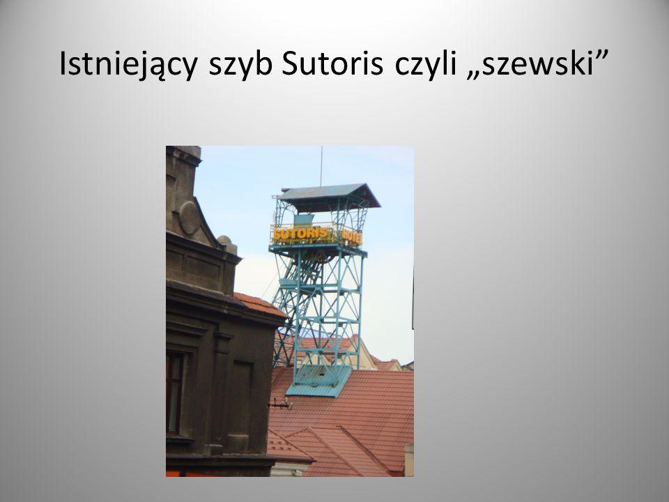 """Istniejący szyb Sutoris czyli """"szewski"""""""