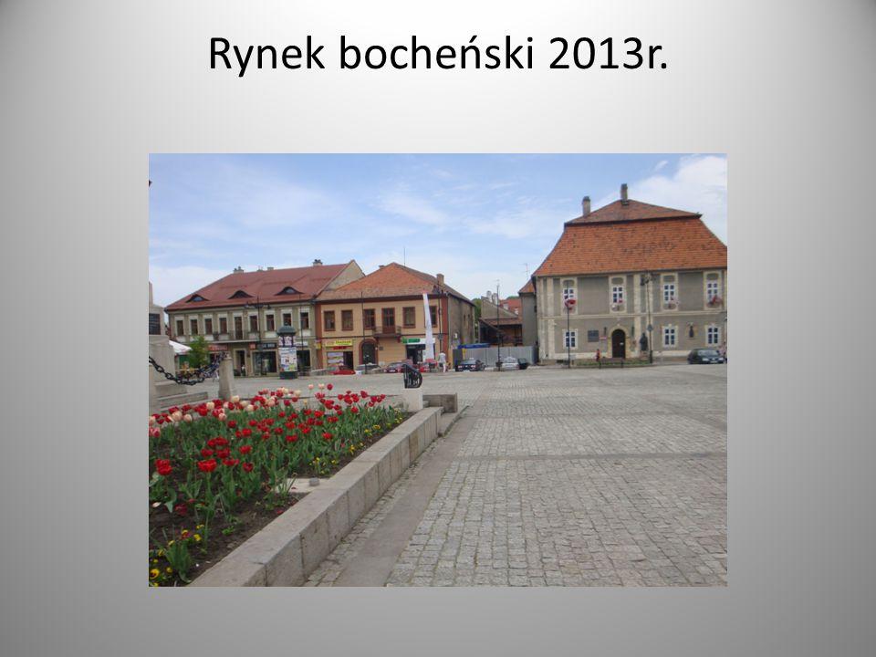 Rynek bocheński 2013r.