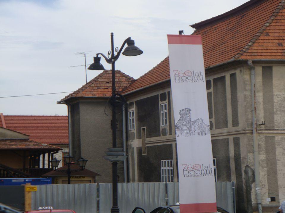 Zarys dziejów bocheńskiego rynku Z chwilą lokacji miasta Bochni w 1253 r.