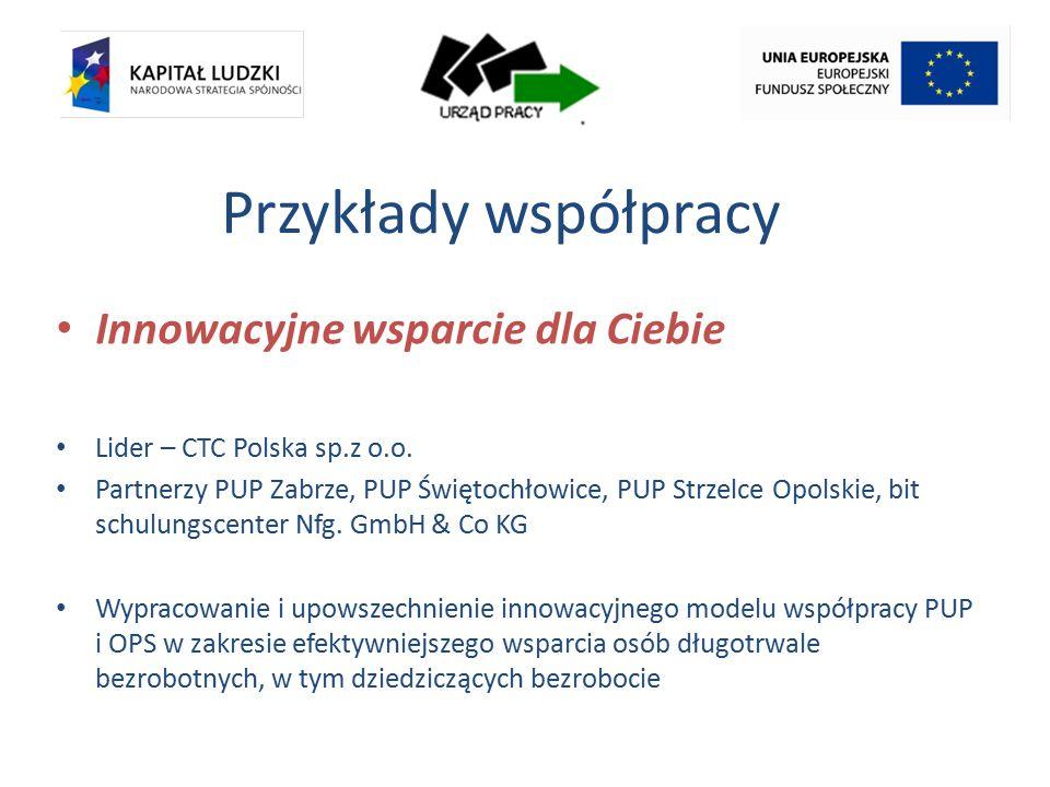 Przykłady współpracy Innowacyjne wsparcie dla Ciebie Lider – CTC Polska sp.z o.o.
