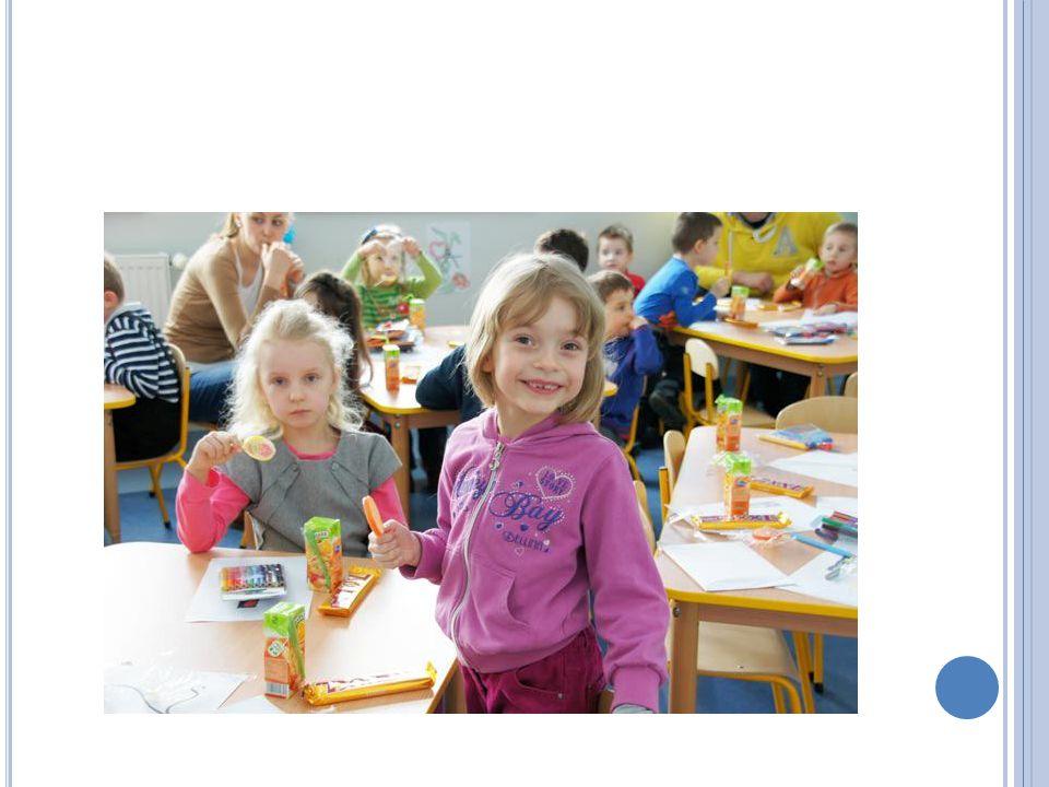 S TRUKTURA Projekt skierowany jest do Mam mających dzieci w wieku od 3 do 12 lat.