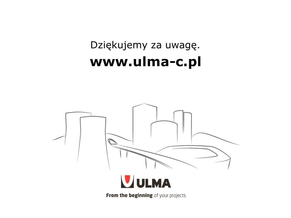 Dziękujemy za uwagę. www.ulma-c.pl