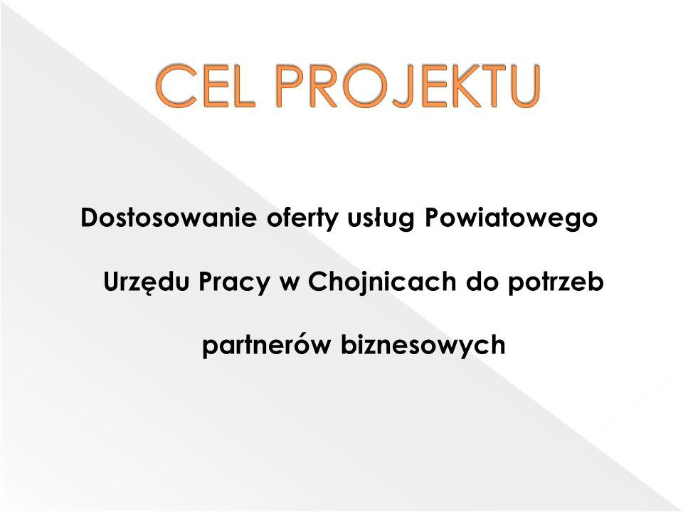 Dostosowanie oferty usług Powiatowego Urzędu Pracy w Chojnicach do potrzeb partnerów biznesowych