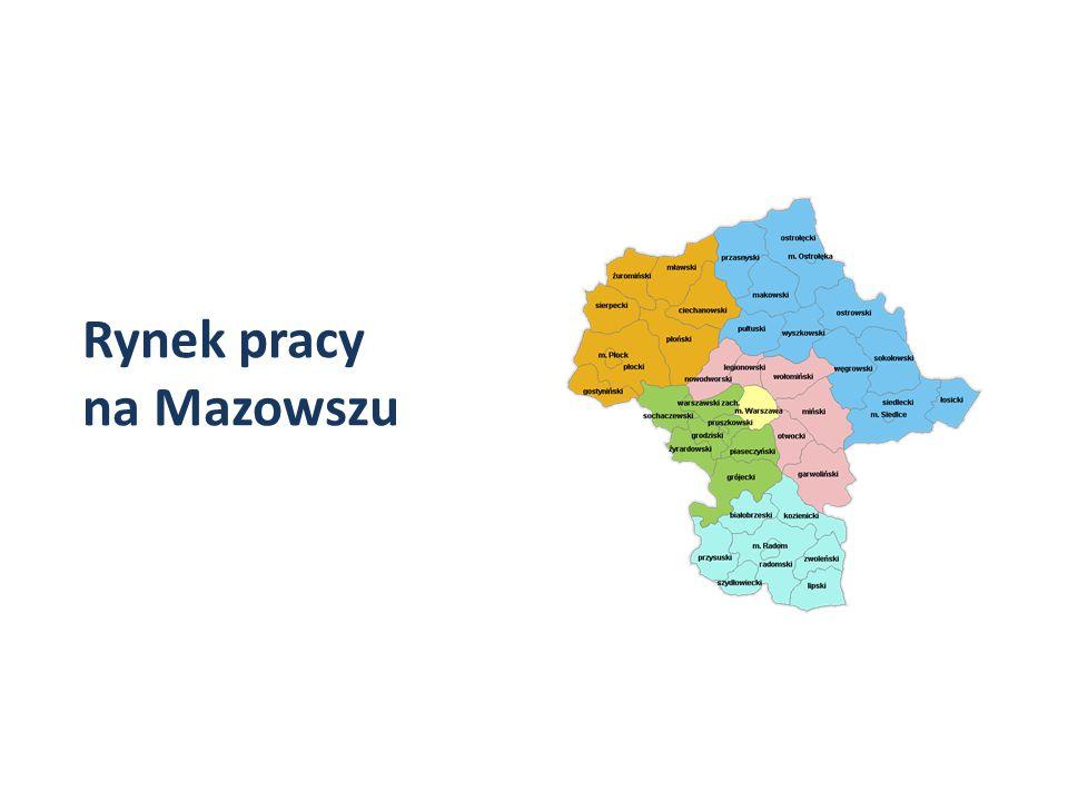 Rynek pracy na Mazowszu