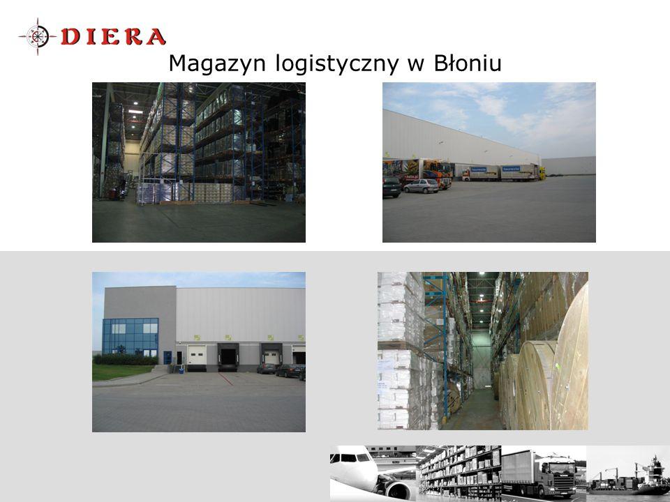 Magazyn logistyczny w Błoniu