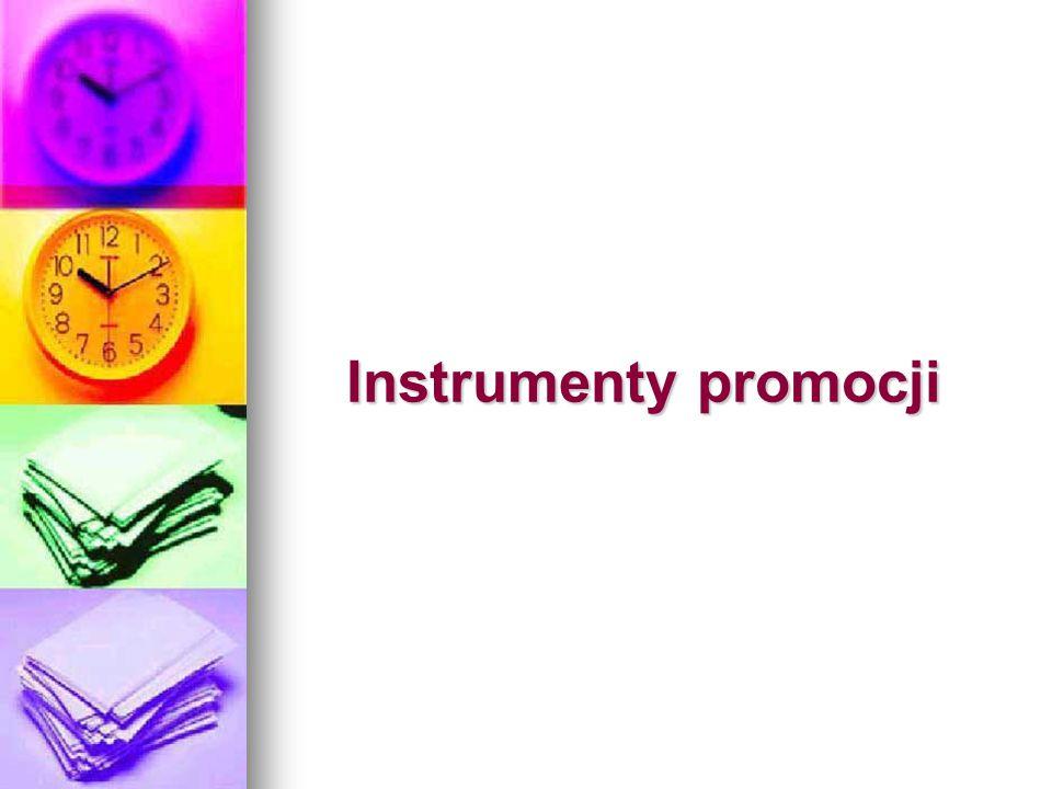 Instrumenty promocji