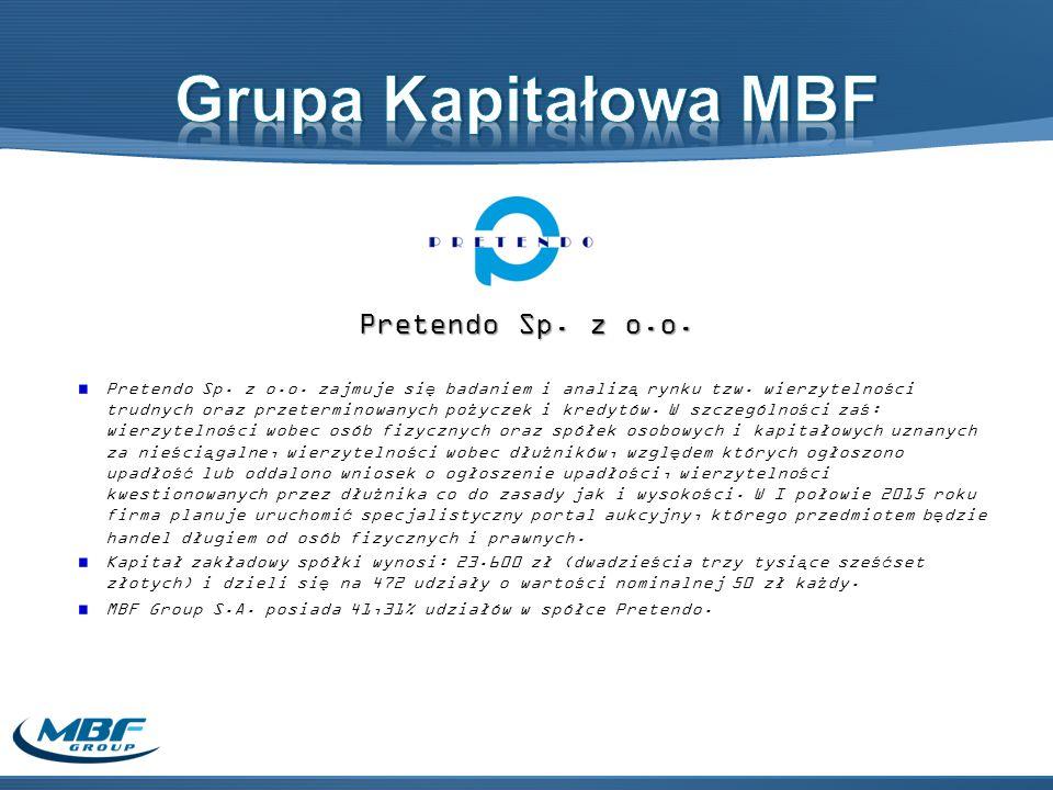 Pretendo Sp.z o.o. Pretendo Sp. z o.o. zajmuje się badaniem i analizą rynku tzw.