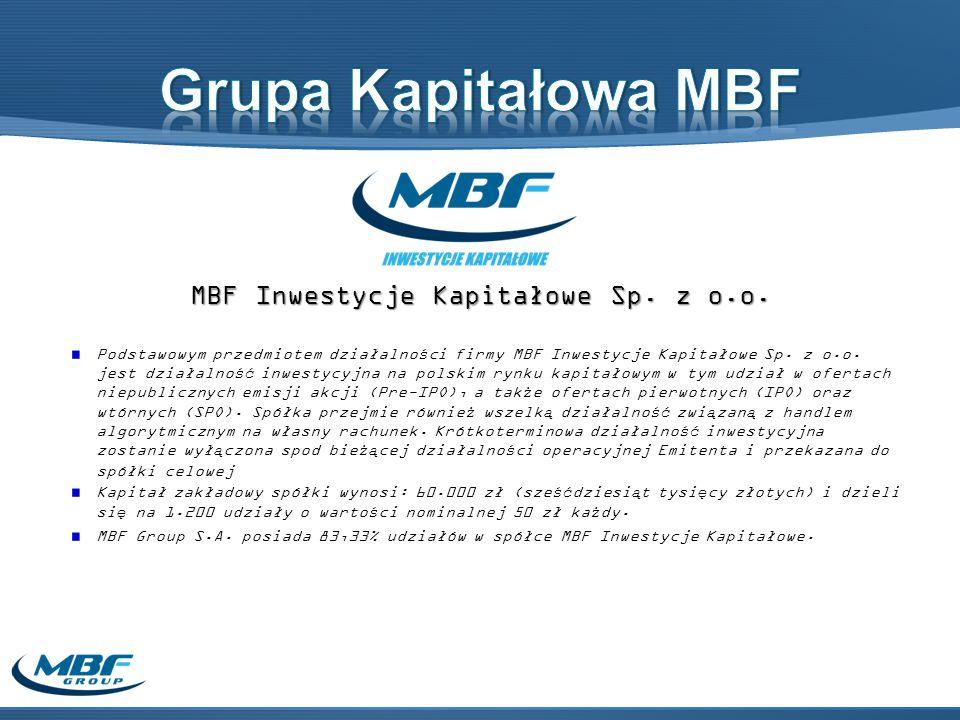 MBF Inwestycje Kapitałowe Sp.z o.o.