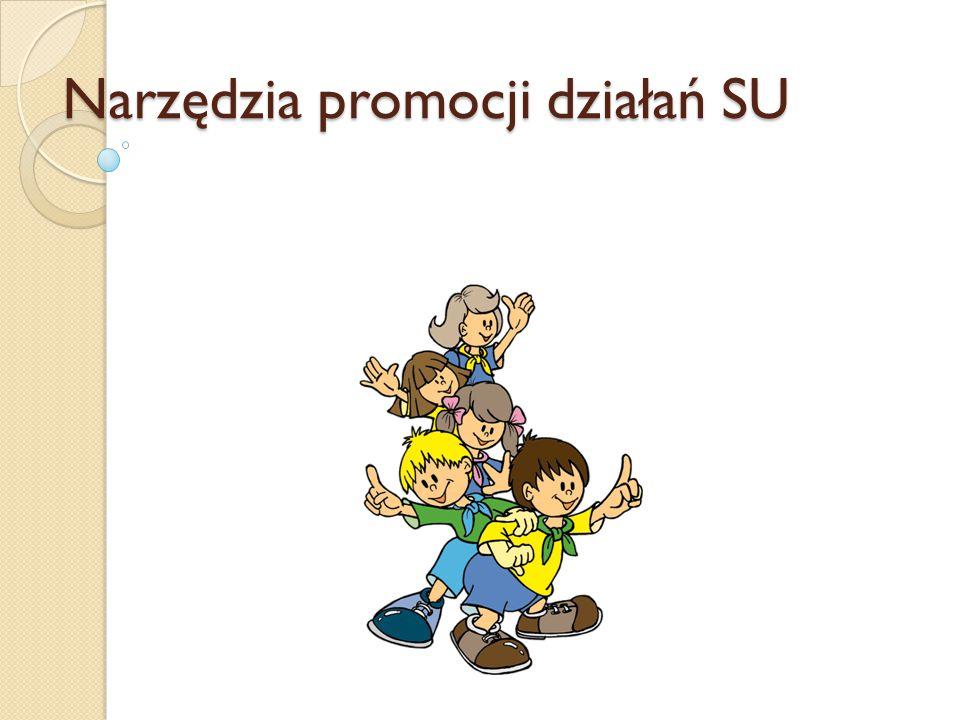Narzędzia promocji działań SU