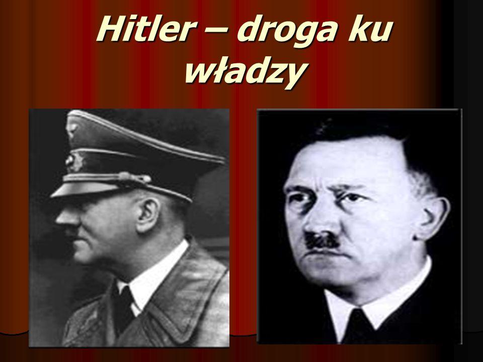 Ponad prawem W 1934 roku Hitler postawił się ponad prawem.