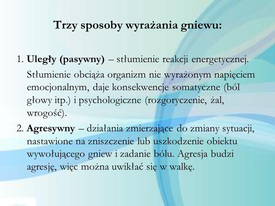3.Asertywny – koncentracja na zadaniu tj.