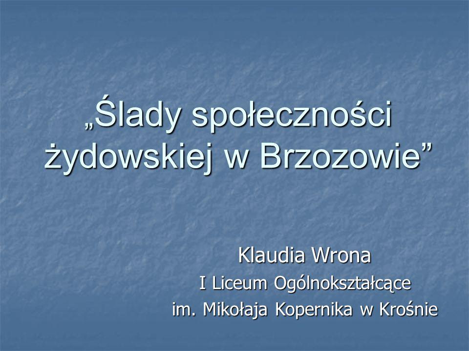 Brzozów na mapie Polski → Panorama Brzozowa ↓