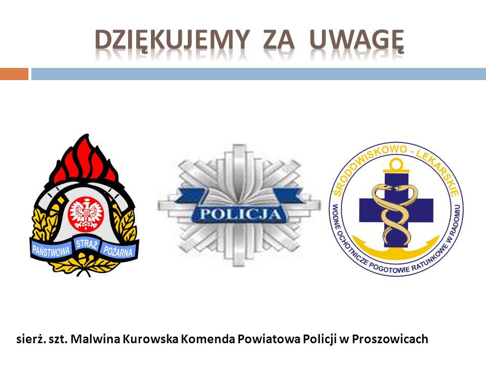 2015-03-27 36 Pogotowie ratunkowe – 999 Straż Pożarna – 998 Policja – 997 WOPR – 0 601 100 100