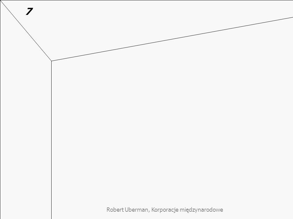 Robert Uberman, Korporacje międzynarodowe 7