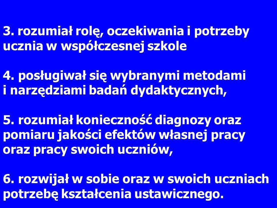 Literatura literatura podstawowa: Bereźnicki F., Podstawy kształcenia ogólnego.