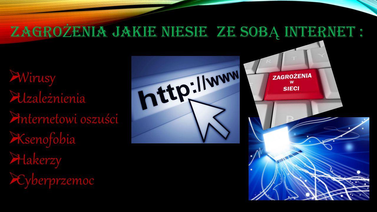 WIRUSY Najlepszym sposobem jest niedopuszczenie wirusów do komputera jest zainstalowanie odpowiedniego oprogramowania lub programu antywirusowej oraz zapory sieciowej, aby chronić swoje dane prywatne.