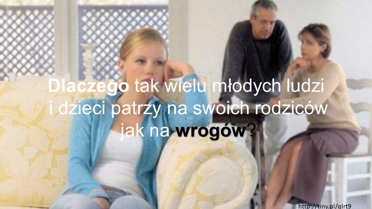 Dlaczego tak wielu młodych ludzi i dzieci patrzy na swoich rodziców wrogów jak na wrogów? http://tiny.pl/qlrt9