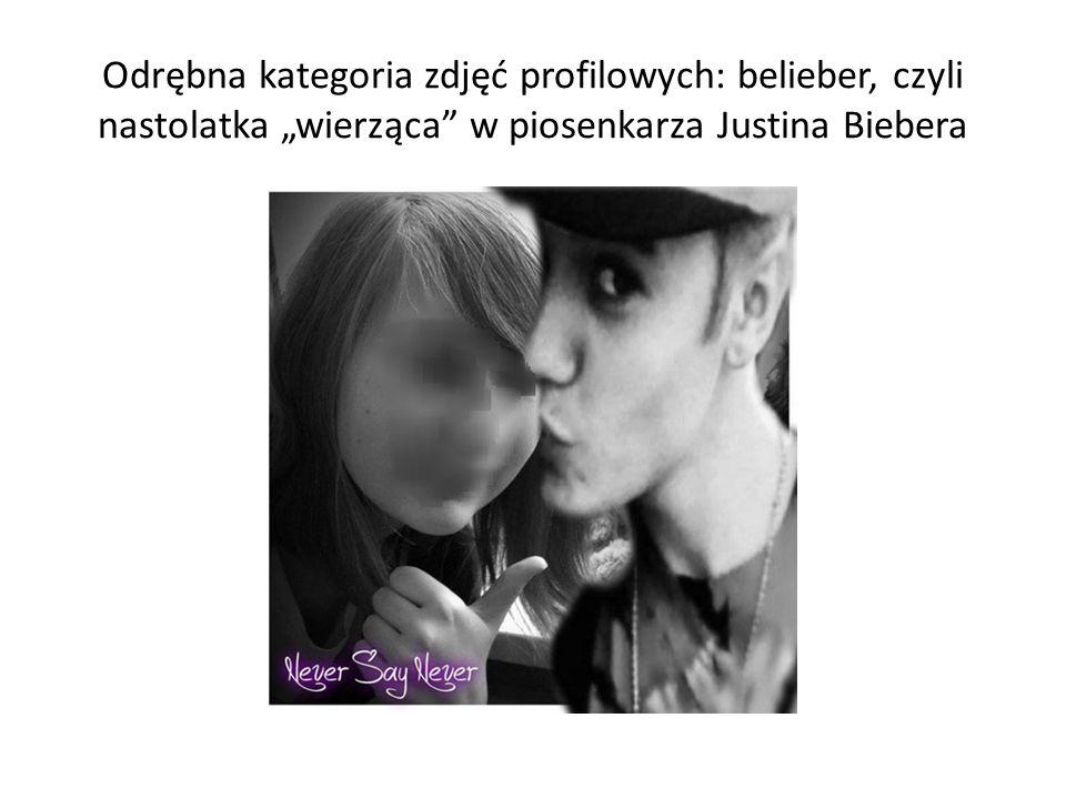 """Odrębna kategoria zdjęć profilowych: belieber, czyli nastolatka """"wierząca"""" w piosenkarza Justina Biebera"""