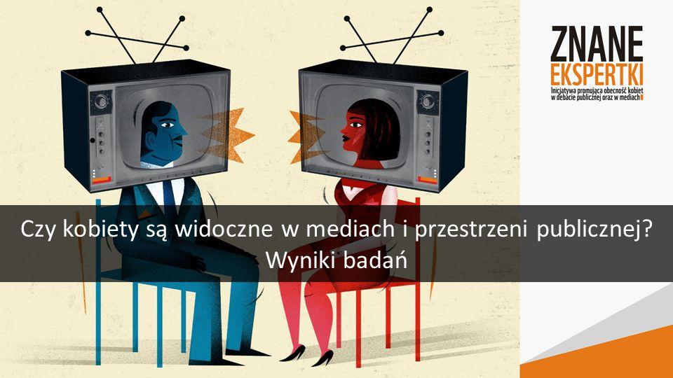 Czy kobiety są widoczne w mediach i przestrzeni publicznej Wyniki badań