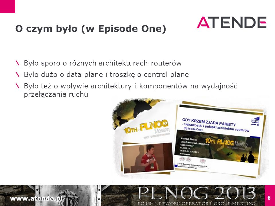 www.atende.pl 27 JAK ŻYĆ, ROUTERZE?