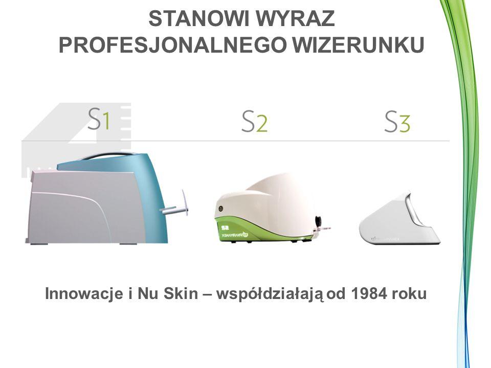 STANOWI WYRAZ PROFESJONALNEGO WIZERUNKU Innowacje i Nu Skin – współdziałają od 1984 roku